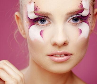 креативный макияж для фотосессии фото
