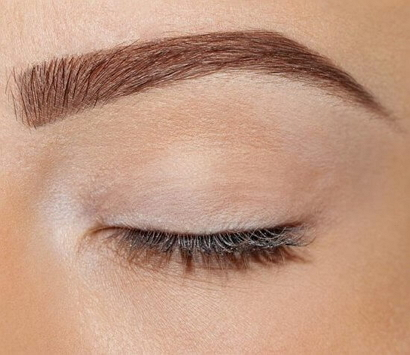 Перманентный макияж бровей растушевка фото