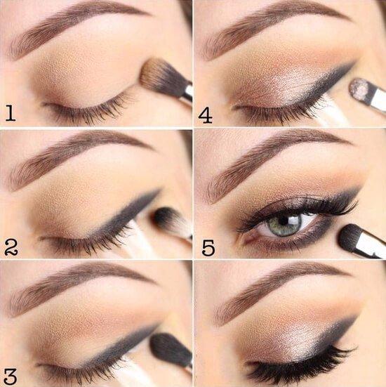 Как сделать идеальный макияж самой пошаговое фото складываются целые
