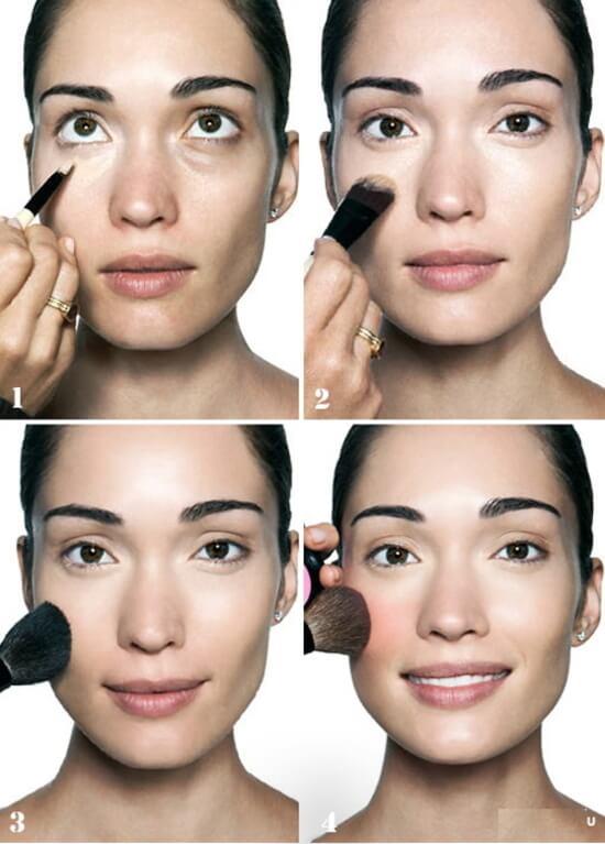 макияж лица пошаговое фото в домашних условиях расскажем том, как