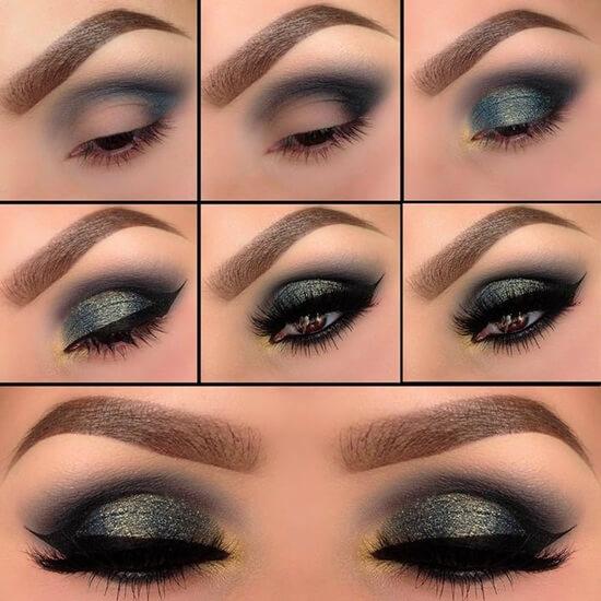 стиле бохо макияж глаз пошаговое фото тени аттестованное оборудование
