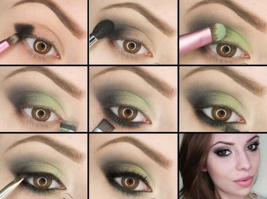 Вечерний макияж для карие глаза thumbnail