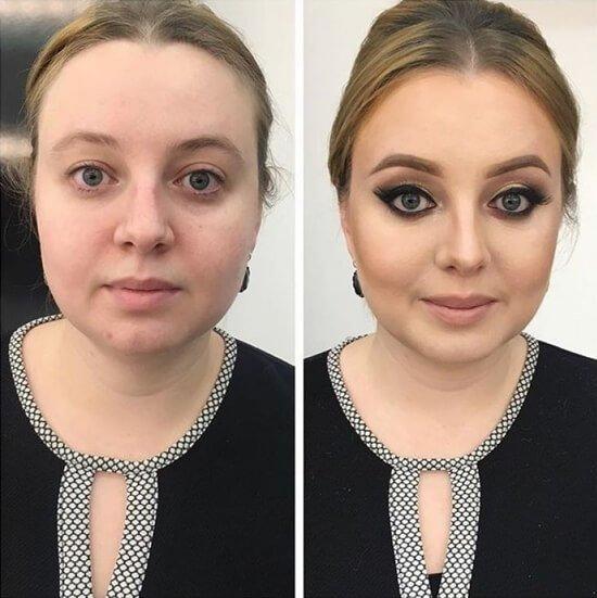 макияж своими руками пошагово фото