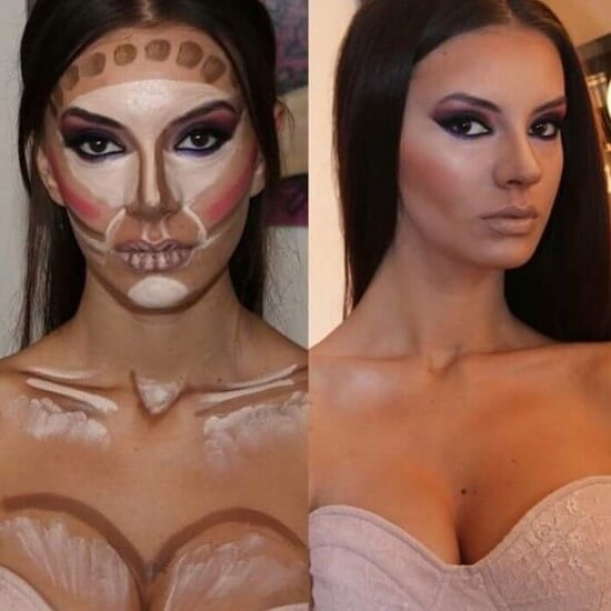 дневной макияж пошагово с фото для начинающих