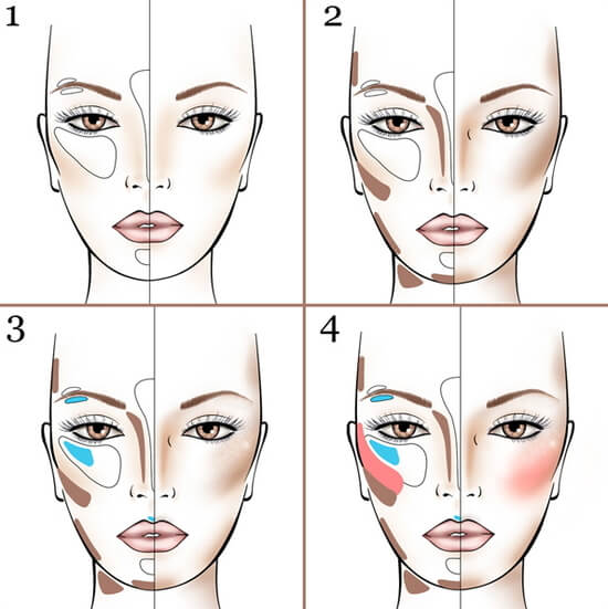 макияж правила с картинками своей работой каждый