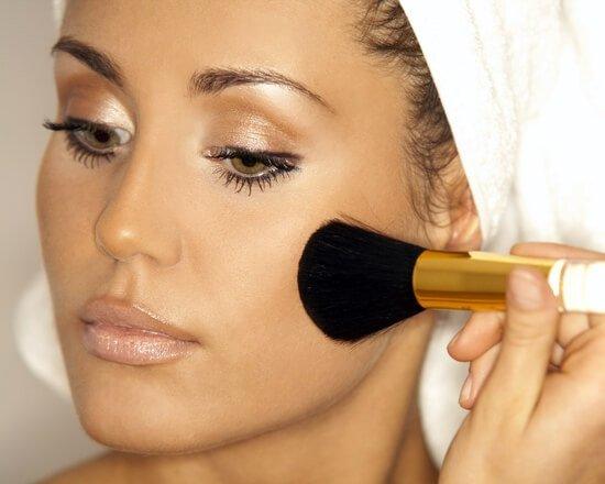 макияж пошаговое фото