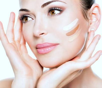 Правильный макияж пошагово с фото тон лица
