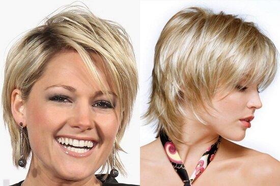 Причёска лесенка фото