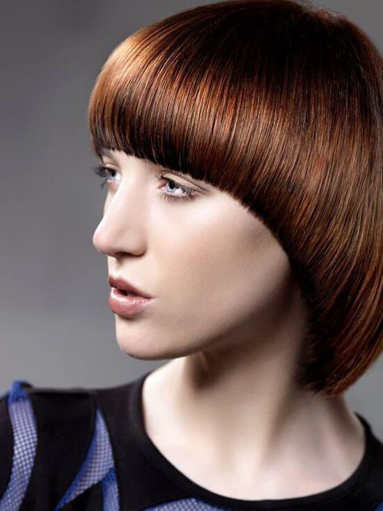 Прическа сессон на короткие волосы фото
