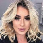 Стильные прически на средние волосы фото 2018