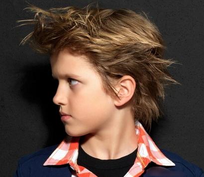 Модные причёски для мальчиков 12 лет фото