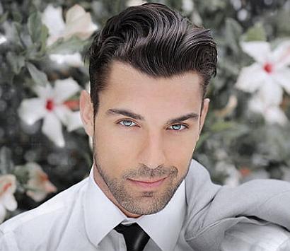 Причёска модельная мужская фото