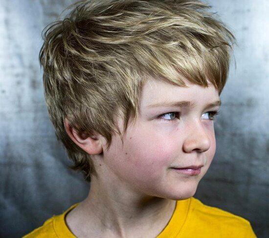 Причёски для мальчиков 10-11 лет фото модные