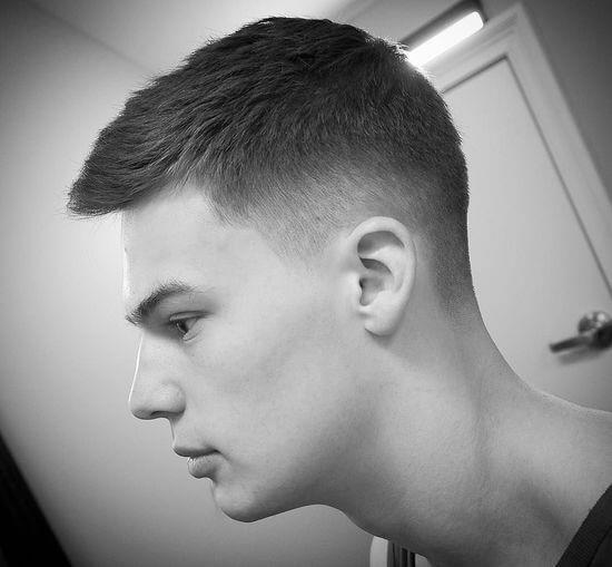 Мужские причёски с переходом