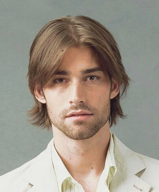 Причёска на две стороны мужская