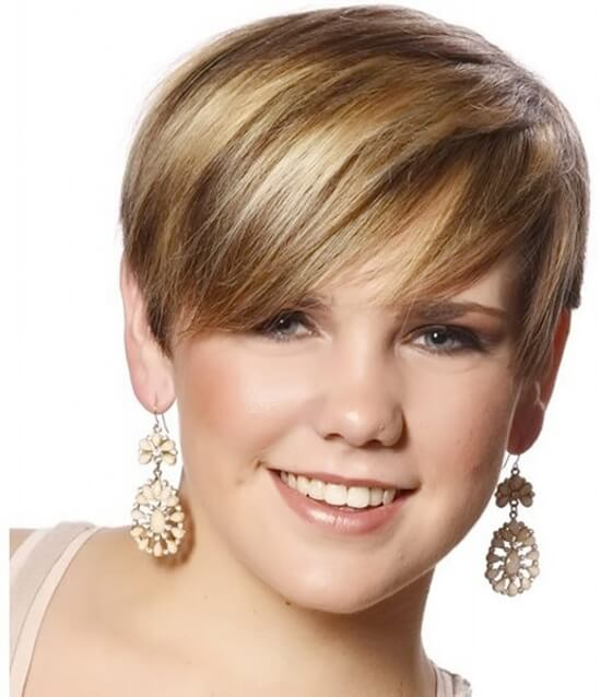 Причёски на круглое лицо фото какие подойдут
