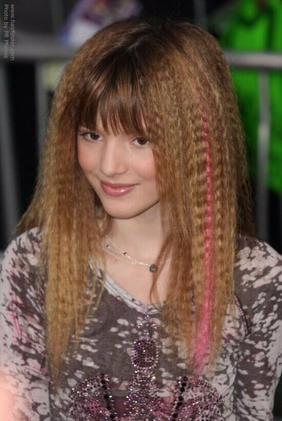 Причёски на средние волосы с гофре фото