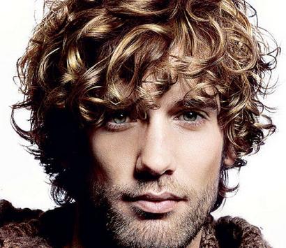 """Русый волнистый волос какая подойдет мужская стрижка"""" title=""""Русый волнистый волос какая подойдет мужская стрижка"""