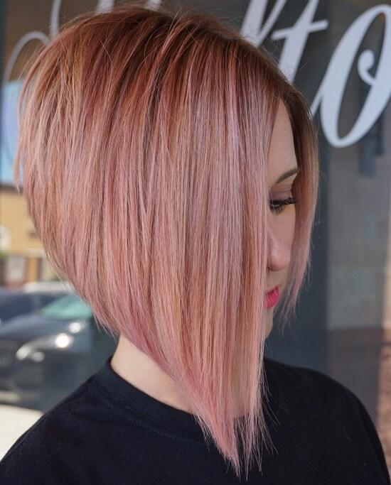 Причёски на каре с удлинением