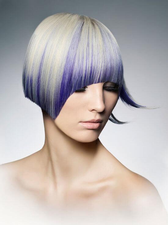 Стрижки и покраска на средние волосы