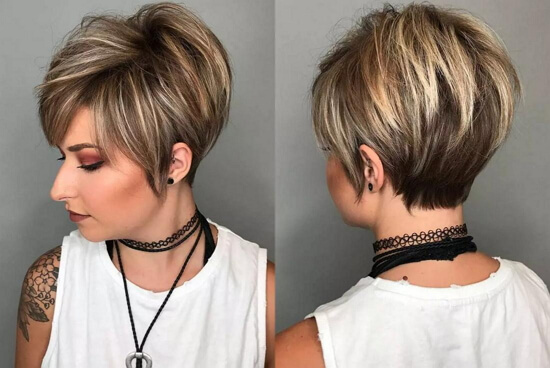 Короткие стрижки женские 2020 на тонкие волосы