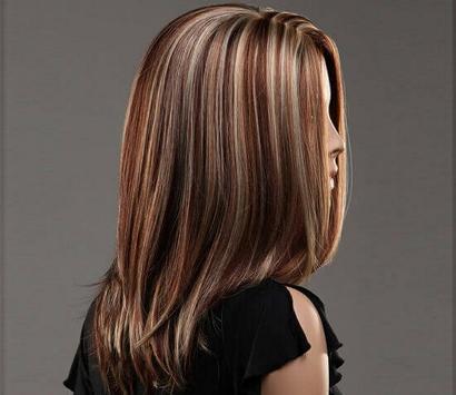 Мелирование на длинные тёмные волосы