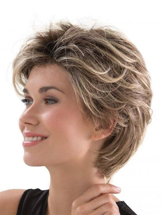 Стрижка американка женская на короткие волосы