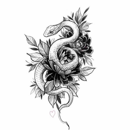 татуировки цветов на руке