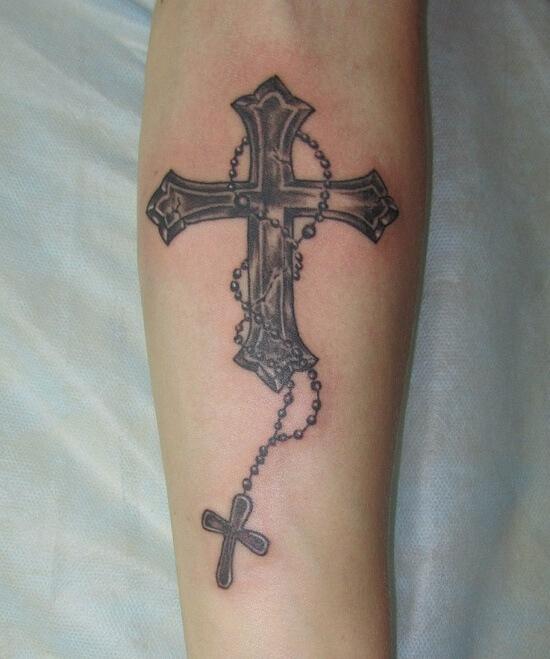 картинки крест на руке значение