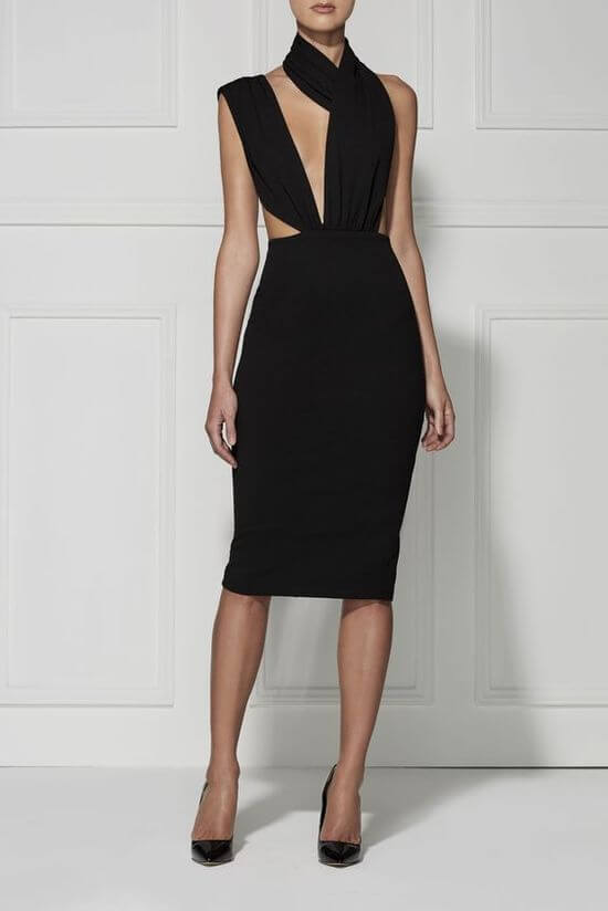 Фото чёрных маленьких платьев
