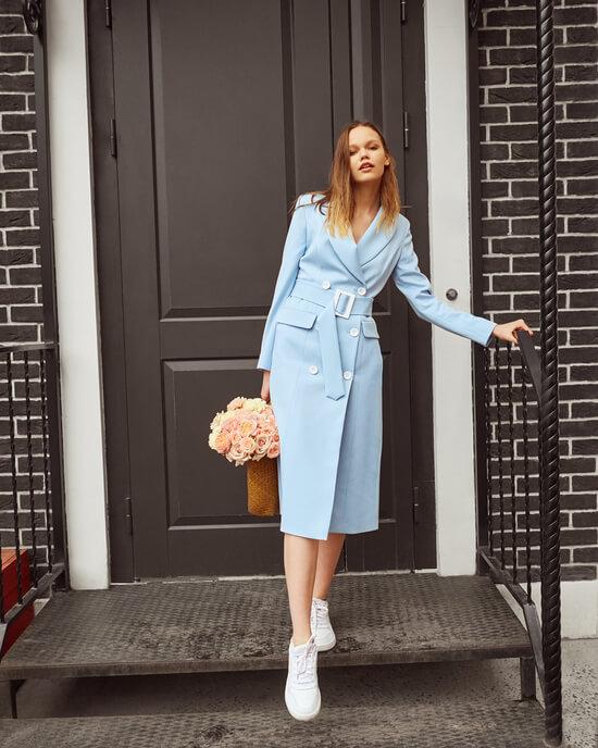 Платье пиджак 2019 фото