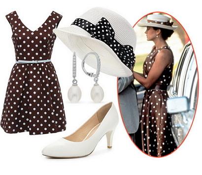 Платье в горошек из фильма Красотка фото