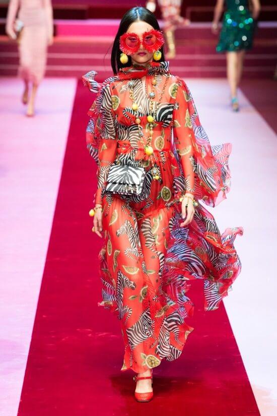 Платья Dolce & Gabbana 2019 фото новинки