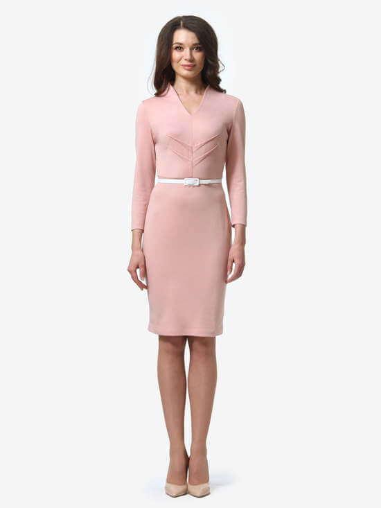 платья пудрового цвета фото