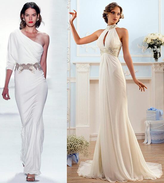 Платье в греческом стиле фото