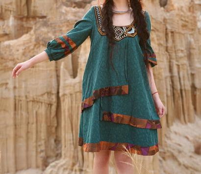 Платья бохо фото
