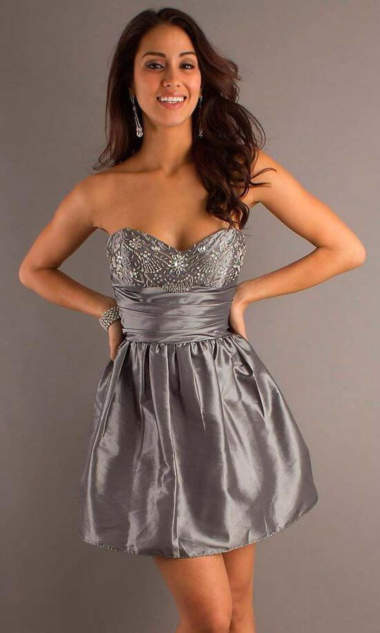 Короткие вечерние платья фото